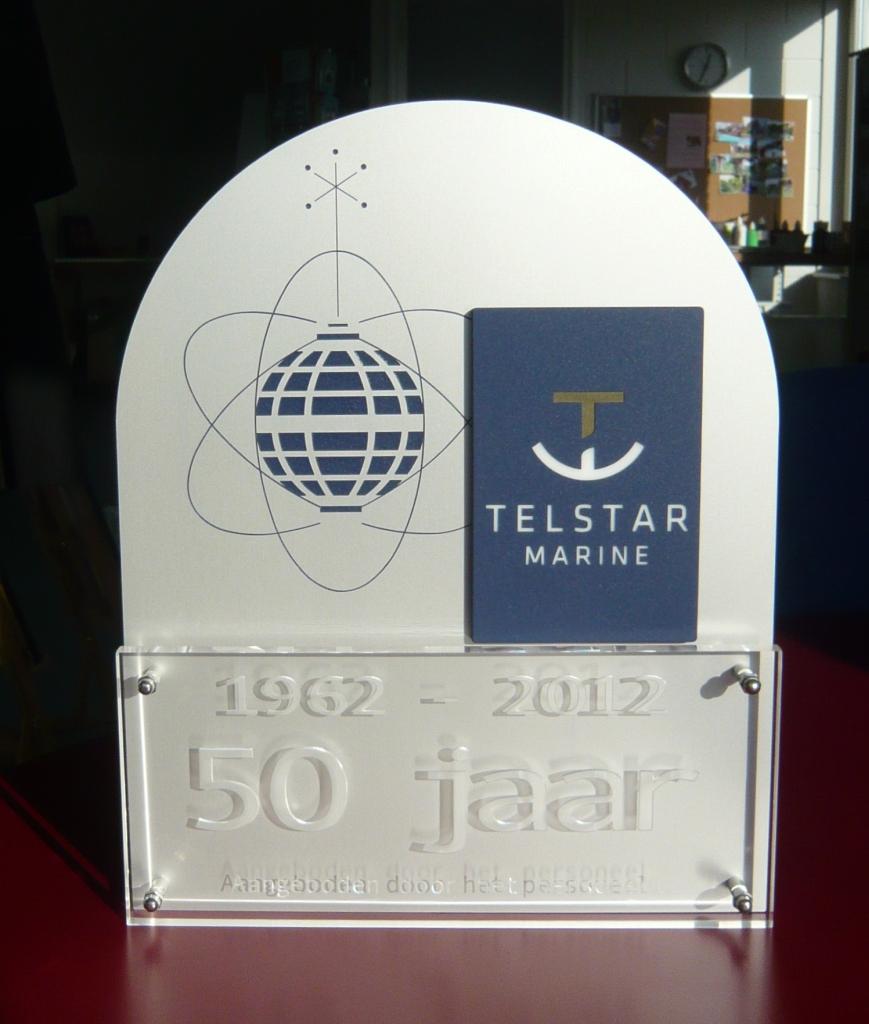 Award 50 jarig bestaan