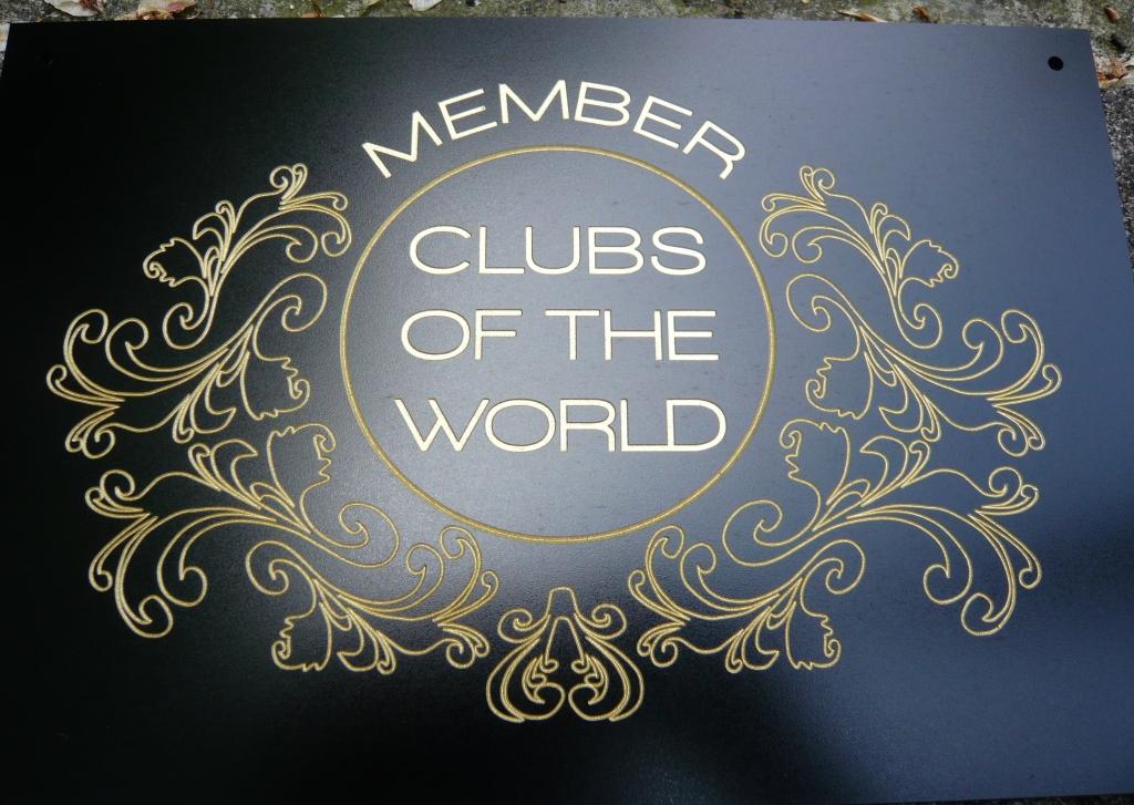 Naamplaat kunststof met logo
