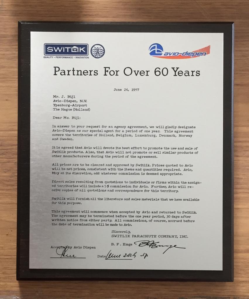 Jubileumplaat plaquette voor een jubileum met logo's