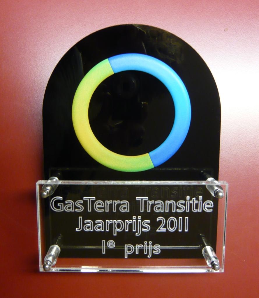 Plaquette prijs laten maken kunststof Gasterra2