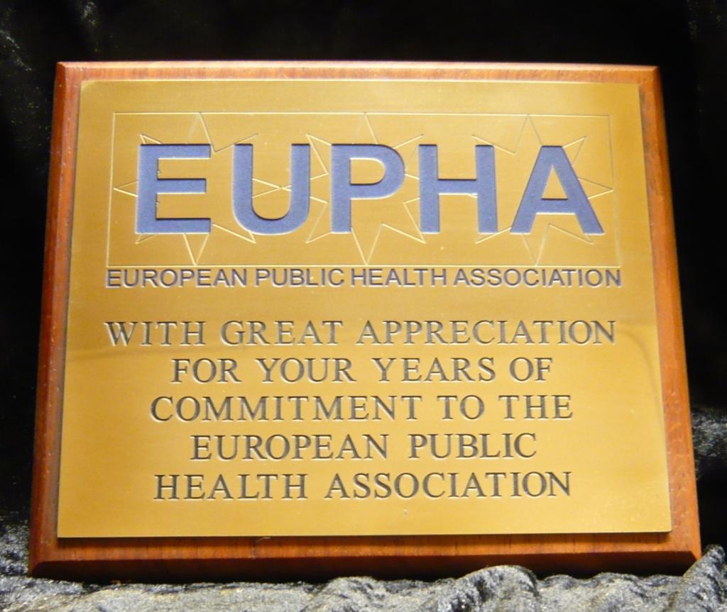 Plaquette laten maken messing Eupha