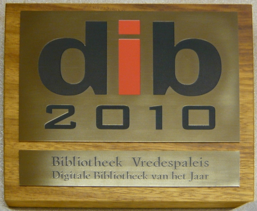 Plaquette laten maken metaal DIB