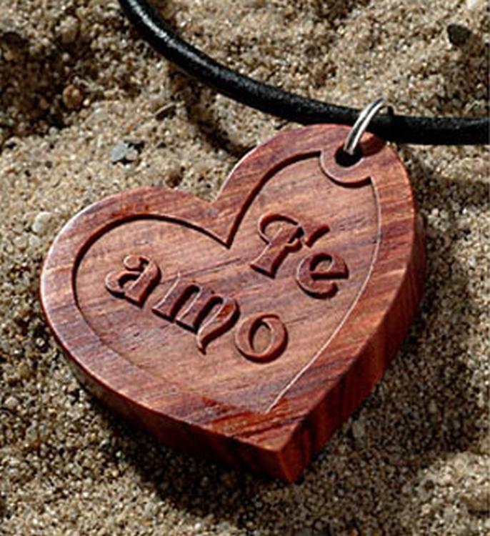 Amulet maken hout